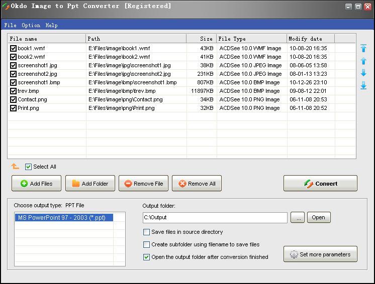 Okdo Image to Ppt Converter